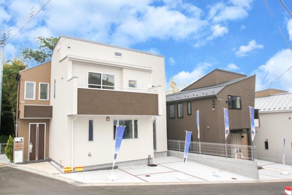 全棟LDK20帖超・収納充実の広々空間 解放感を持たせた全6棟の開発分譲地!!町田市大蔵町