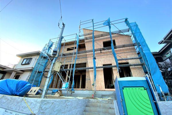土地64坪・建物49坪(LDK29帖超)大型間取りの新築戸建が誕生