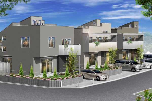 青葉区美しが丘西3丁目 新築戸建3棟販売開始