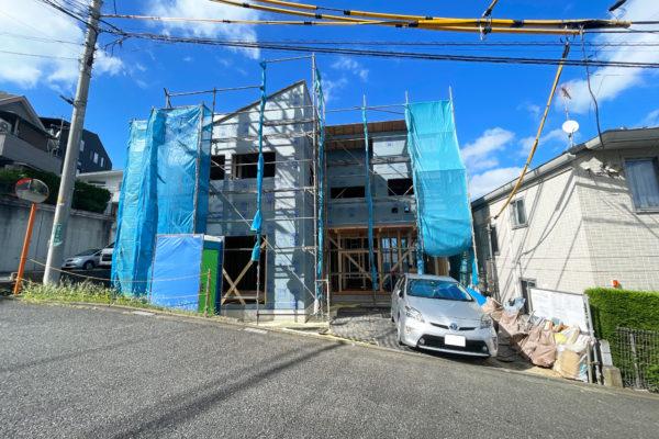 独創的なファサードにこだわった建売住宅とは思えないこだわりの邸宅